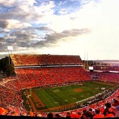Photo taken at Memorial Stadium by Patrick B. on 10/14/2013