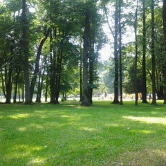 Photo taken at Nordeķu Parks by Ivars D. on 6/25/2013