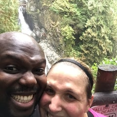 Photo taken at Wallace Falls Trail by Jamie L. on 10/3/2015