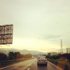 Photo taken at Jalan Tol Padaleunyi by BramVoltage S. on 12/26/2012