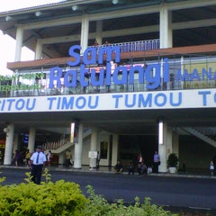 Photo taken at Sam Ratulangi International Airport (MDC) by Erwin G. on 3/25/2013