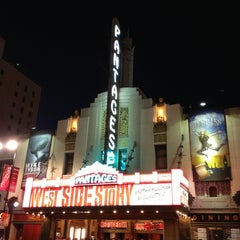 Photo taken at Pantages Theatre by Chris A. on 4/10/2013