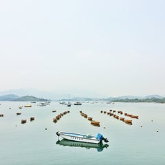 Photo taken at Tai Mei Tuk Water Sports Centre 大美督水上活動中心 by Josephine L. on 4/13/2014