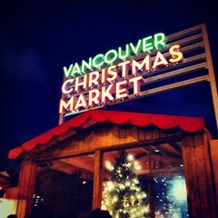 Photo taken at Vancouver Christmas Market by Joey K. on 11/25/2012