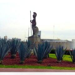 Photo taken at Glorieta Fuente La Minerva by Alberto M. on 3/13/2013
