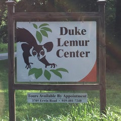 Photo taken at Duke Lemur Center by Chuck N. on 7/9/2015