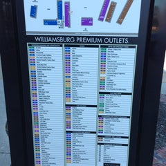 Photo taken at Williamsburg Premium Outlets by Chuck N. on 1/22/2013