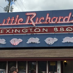 Photo taken at Little Richard's Lexington BBQ by Chuck N. on 8/31/2015