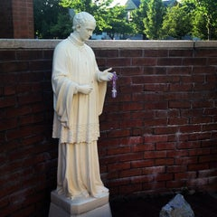 Photo taken at St. Aloysius Church by Amanda D. on 6/9/2014