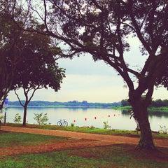 Photo taken at Lower Seletar Reservoir Park by Yola on 3/22/2013