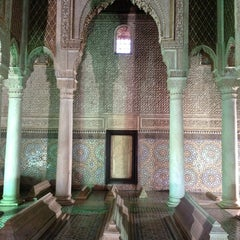 Photo taken at Saadian Tombs | قبور السعديين by Norbert on 3/24/2013
