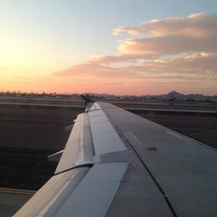 Photo taken at Phoenix Sky Harbor International Airport (PHX) by Misty G. on 8/10/2013