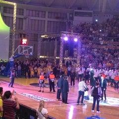 Photo taken at Αλεξάνδρειο Μέλαθρον (Palais des Sports) by Solon on 5/7/2013