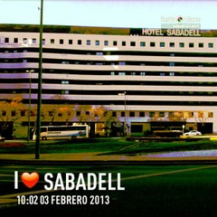 Photo taken at Hotel Catalonia Sabadell **** by Jose N. on 2/3/2013