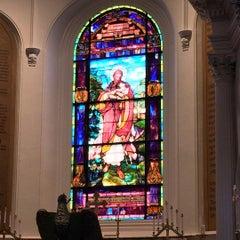 Photo taken at St. John's Lutheran Church by Sheila T. on 10/18/2015