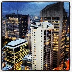 Photo taken at Meriton Serviced Apartments by Alex Z. on 11/30/2012
