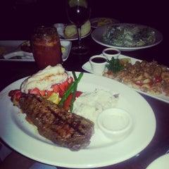 Photo taken at The Keg Steakhouse + Bar - Keg Mansion by Edmund M. on 2/15/2013