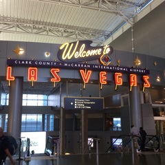 Photo taken at McCarran International Airport by Dakota H. on 5/8/2015