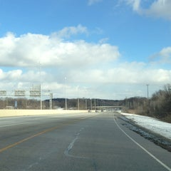 Photo taken at I-77 Exit 135 - Cleve-Mass Rd by Gaylan F. on 1/24/2013