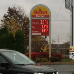 Photo taken at Wawa by Red B. on 10/27/2012