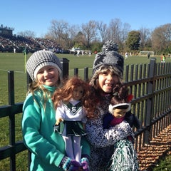 Photo taken at DeMartin Field by Kyle G. on 11/2/2014