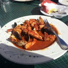 Photo taken at Abalonetti Seafood Trattoria by mike g. on 2/14/2013