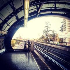Photo taken at Metro San Joaquín by Alexis V. on 3/22/2013