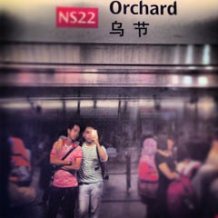 Photo taken at Orchard MRT Station (NS22) by R.C. R. on 6/5/2013