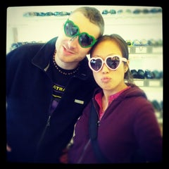 Photo taken at Sunglasses on Haight by Claus-Georg on 11/28/2012