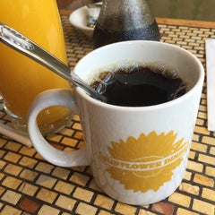 Photo taken at Sunflower Diner by Peter K. on 4/16/2015