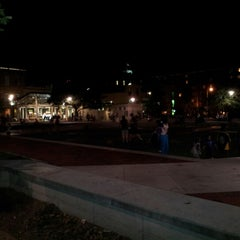 Photo taken at Ellis Square by SuperCub on 10/7/2012
