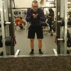 Photo taken at LA Fitness by Eric R. on 10/31/2014