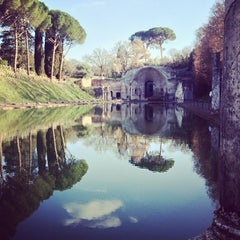 Photo taken at Villa Adriana by Francesco F. on 3/3/2013