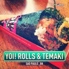 Photo taken at Yoi! Rolls & Temaki by Rafael W. on 1/15/2013
