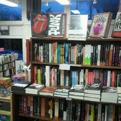 Photo taken at Carmichael's Bookstore by Sandy P. on 3/1/2013
