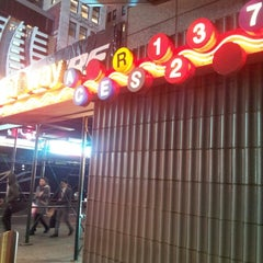 Photo taken at MTA Subway - 42nd St/Times Square/Port Authority Bus Terminal (A/C/E/N/Q/R/S/1/2/3/7) by Molinda M. on 2/27/2013