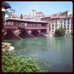 Photo taken at Ponte degli Alpini by Nari P. on 6/16/2013