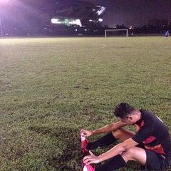 Photo taken at Stadium Mini Shah Alam by Afiq F. on 6/12/2015