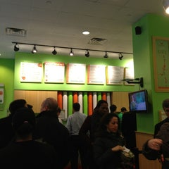 Photo taken at Just Salad by Lea G. on 3/13/2013