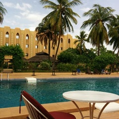 Photo taken at Azalai Hotel Independance Ouagadougou by Sami K. on 5/25/2014