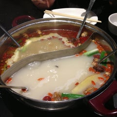 Photo taken at Little sheep Mongolian Hot Pot by Shiz on 2/17/2013