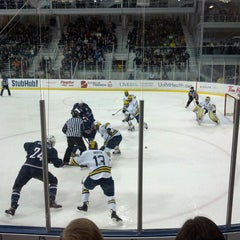 Photo taken at Yost Ice Arena by John S. on 1/5/2013