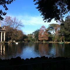 Photo taken at Villa Borghese by Bige O. on 1/4/2013