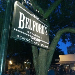 Photo taken at Belford's Savannah Seafood & Steaks by CaraLynn T. on 8/10/2013