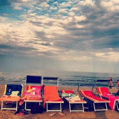 Photo taken at Bagno Stefano 105 by Samuele B. on 9/15/2013