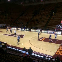 Photo taken at Cassell Coliseum by Sneakin D. on 1/22/2015