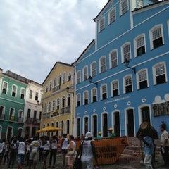 Photo taken at Largo do Pelourinho by Emi V. on 11/23/2012