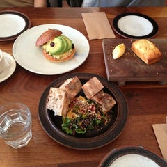 Photo taken at Bar Tartine by Christina S. on 12/28/2012