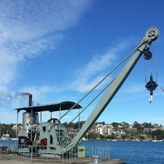 Photo taken at Cockatoo Island by feesable on 7/23/2013