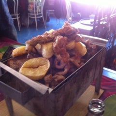 Photo taken at Parrilladas San Luis by Sebastian P. on 2/28/2014
